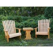 Столик журнальний дерев'яний 750х510х550 мм