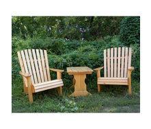 Столик журнальный деревянный 750х510х550 мм