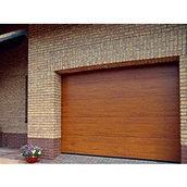 Секційні гаражні ворота Alutech Алютех CLASSIC з торсіонними пружинами 3000х2500 мм