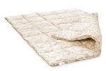 В отличие от любых других вещей шерстяное одеяло никогда не вызывает раздражения кожи.