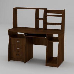 Комп'ютерний стіл Компанит Комфорт-3 1310х700х809 мм горіх