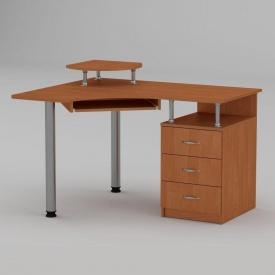 Комп'ютерний стіл Компанит СУ-2 1200х1000х736 мм вільха