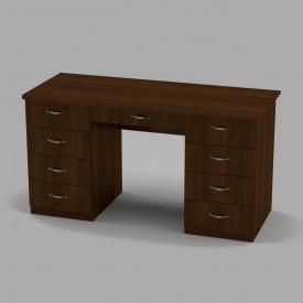 Письмовий стіл Компанит Вчитель-3 1400х600х736 мм горіх
