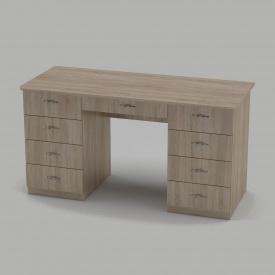 Письмовий стіл Компанит Вчитель-3 1400х600х736 мм дуб сонома