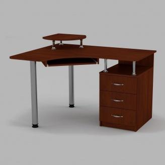 Компьютерный стол Компанит СУ-2 1200х1000х736 мм яблоня