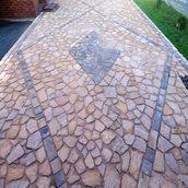 Камінь тротуарний кварцито-піщаник рудо-рожевий