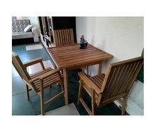 Комплект меблів для дачі МАСТЕРОК з сосни стіл+3 стільця