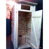 Туалет деревянный МЖП-1