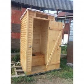 Туалет деревянный тип МЖЛ-2