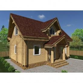 Проект будинку з профільованого бруса 200 мм 5,5 x 8,9