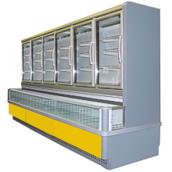Низкотемпературный шкаф-боннет РОСС Milano 3750х1180х2260 мм