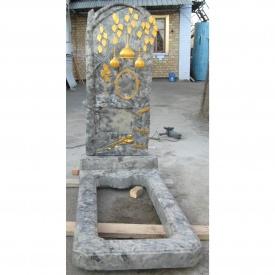 Памятник надгробный 1200х580х65 мм