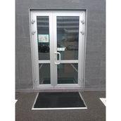 Алюмінієві двері з теплого профілю Rescara Р-69