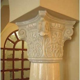Декоративная мраморная колонна