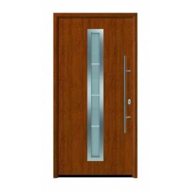 Дверь входная Hormann Thermo 65 700 Golden Oak