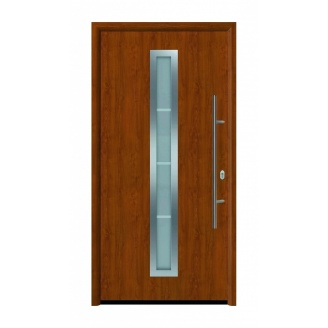 Дверь входная Hormann Thermo 65 700 Golden Oak
