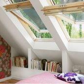 Мансардное окно VELUX GGL 3073 М06 деревянное 78х118 см