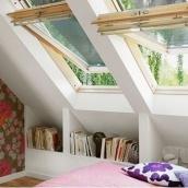 Мансардное окно VELUX GGL 3073 М08 деревянное 78х140 мм