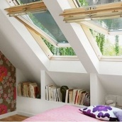 Мансардное окно VELUX GGL 3073 Р06 деревянное 94х118 см