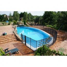 Дитячий паркан Shield для басейну 120х455 см