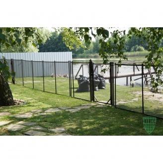 Сумний дитячий паркан для басейну Shield Removable Fencing 120х455 см
