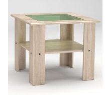 Журнальний столик Компанит Мадрид-МДФ 600х500х600 мм дуб сонома