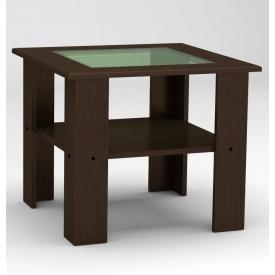 Журнальный столик Компанит Мадрид 600х500х600 мм венге