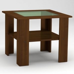 Журнальный столик Компанит Мадрид 600х500х600 мм орех