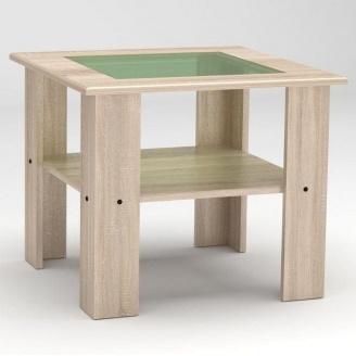 Журнальный столик Компанит Мадрид-МДФ 600х500х600 мм дуб сонома