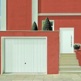 Щитові ворота Hormann Berry Pearl 2375х2125 мм RAL 8028 коричневий