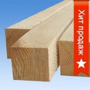 Брус деревянный 4 м