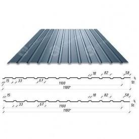 Профнастил Сталекс С-10 1180/1100 мм 0,50 мм PE Германия (Acelor Mittal) (RAL7024/серый графит)