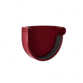Заглушка ринви права Rainway 90 мм червона