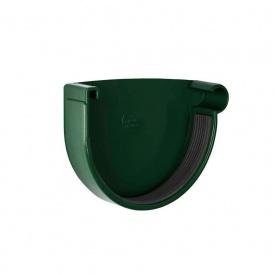 Заглушка ринви права Rainway 130 мм зелена