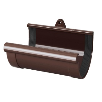 Муфта ринви Rainway 90 мм коричнева