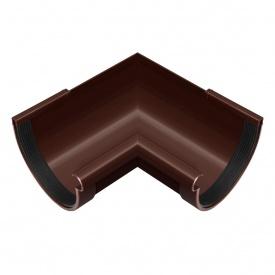 Кут жолоба внутрішній Rainway 90 градусів 90 мм коричневий