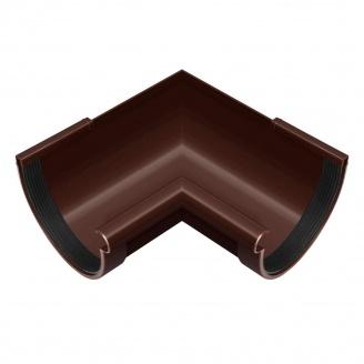 Угол желоба внутренний Rainway 90 градусов 130 мм коричневый