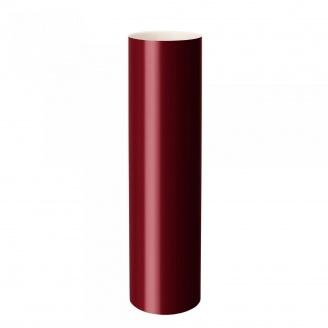 Труба водосточная Rainway 3 м 75 мм красная