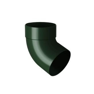 Відведення одномуфтове Rainway 67 градусів 75 мм  зелене