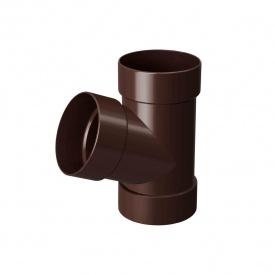 Трійник Rainway 67 градусів 75х75 мм коричневий