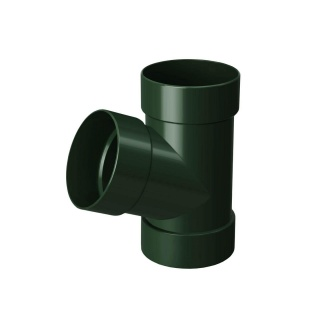 Трійник Rainway 67 градусів 100х100 мм зелений