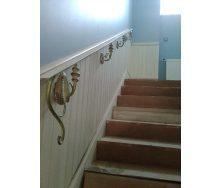 Поручень кованый для лестницы