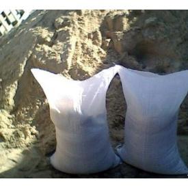 Пісок гірський в мішках