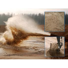 Песок намывной мытый