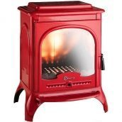 Чугунная печь INVICTA SEVILLE 10 кВт красная