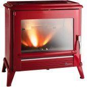 Чугунная печь INVICTA MODENA 12 кВт красная
