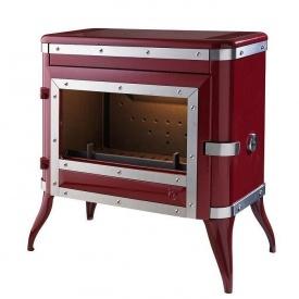 Чугунная печь INVICTA TENNESSEE 8 кВт красная