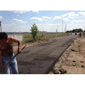 Ямковий ремонт дороги