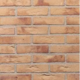 Кирпич ручной формовки Terca Lichtbrons 210х100х50 мм желтый пестрый