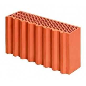 Керамический блок Porotherm 50 1/2 P+W 500x124x238 мм